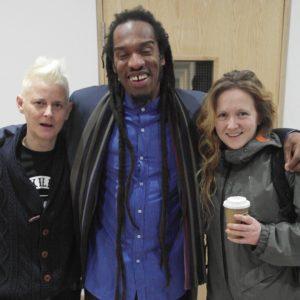 Joelle Taylor, Benjamin Zephaniah and Hollie McNish