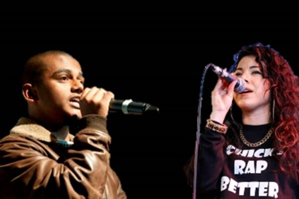 NAGA and Shay D, SLAMbassadors poet coaches